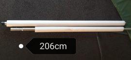Trambulin védőháló tartó rúd + szivacs + csavarok