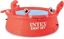 Kerek felfújható medence Intex  (183 x 51 cm) Happy Crab Easy Set  26100