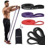 Fitness erősítő gumiszalag 3 x 210 cm Springos